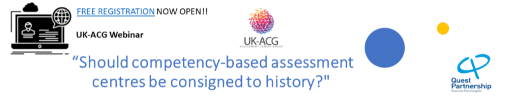 Should competency-based assessment centres be consigned to history? | Webinar